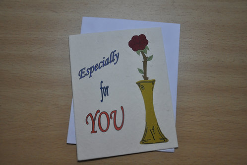 Card - Especially for you
