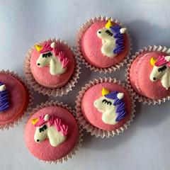 Unicorn Mini Macarons