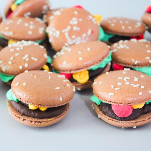 Brownie Batter Burgers