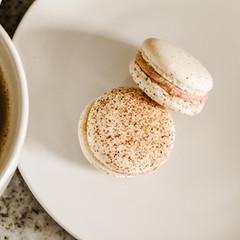 occasionsbyannie-espresso-french-macaron