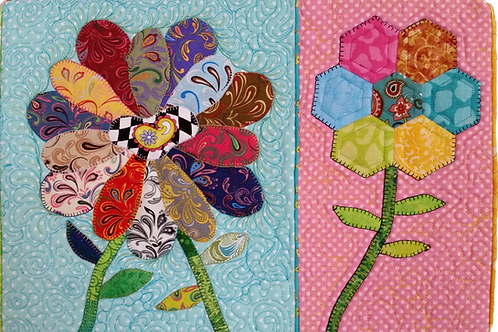 SCRAPPY FLOWER BUNCHES