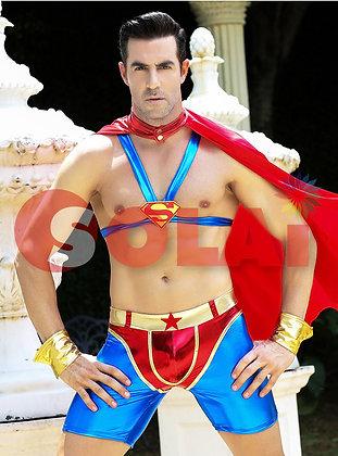 セクシー スーパーマン 衣装 仮装 コスプレ メンズ