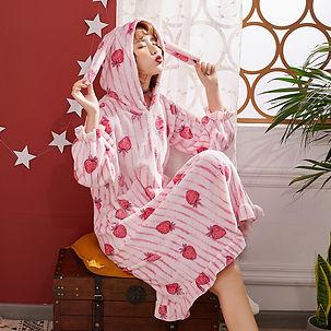 SOLAi うさぎパジャマ