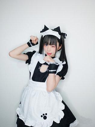 メイド 猫 メイド服 衣装 エプロン 猫の手付き