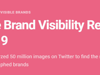 50 million images later, these are the most viewed brands according to Brandwatch