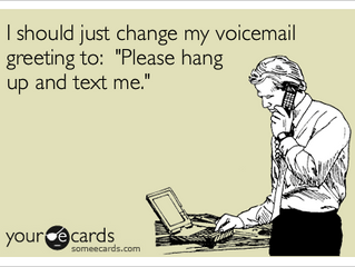 To leave a voicemail or not leave a voicemail: that is the question
