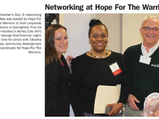 Networking through the Greater Springfield Chamber of Commerce