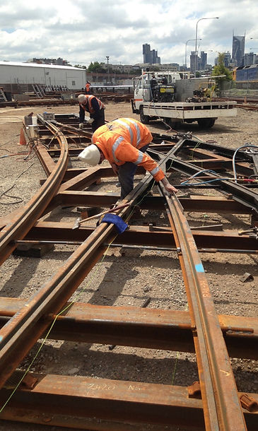 Aluminothermic Thermit Railtech Welding Groove Rail Tram Rail Light Rail Services Supplier Crane Welding