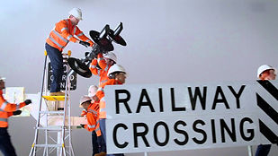 Light (Groove) Rail Tram Train Crane Welding Aluminothermic Services Maintenance Construction