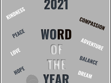 """Pick Your """"Word of the Year"""""""