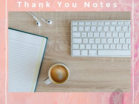 Thank You Notes
