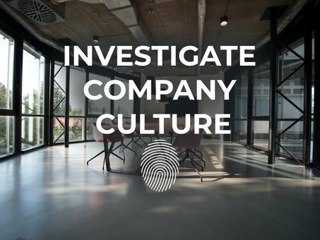 Investigate Company Culture