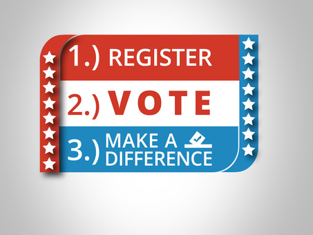 Register. Vote. Make a Difference.