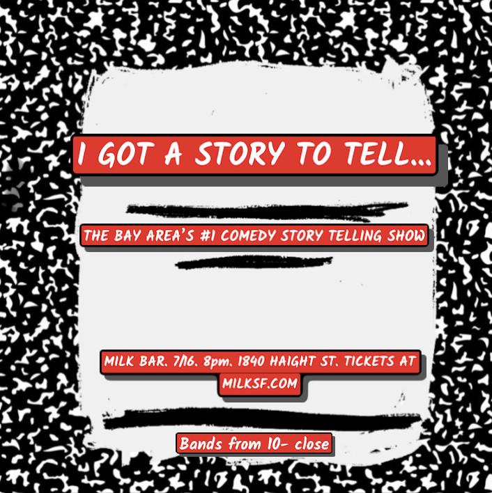 Story Telling at Milk Bar