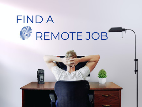 FIND A REMOTE JOB