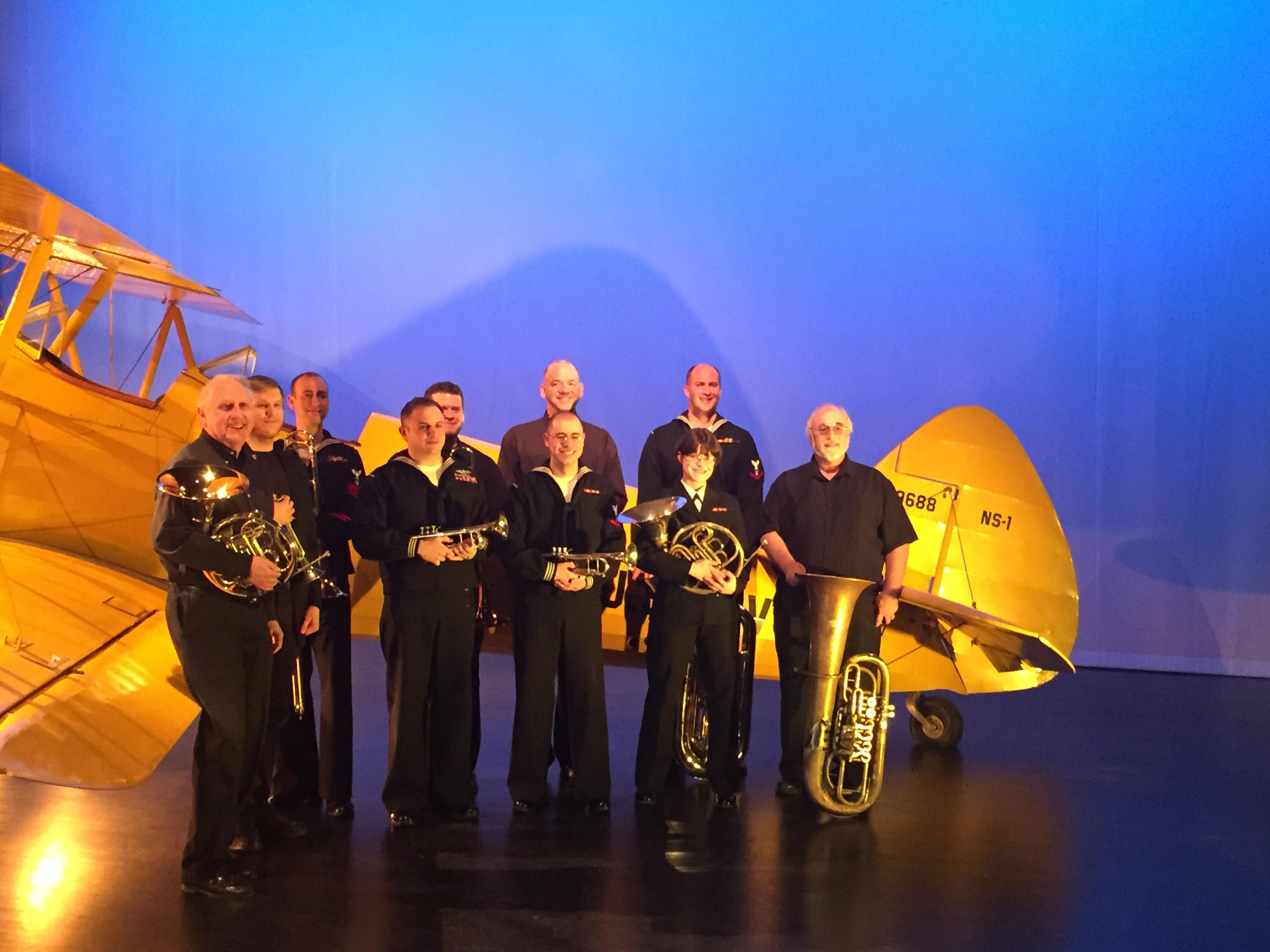 WBQ and Great Lakes Navy Ambassadors