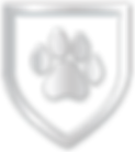 Shield and dog paw