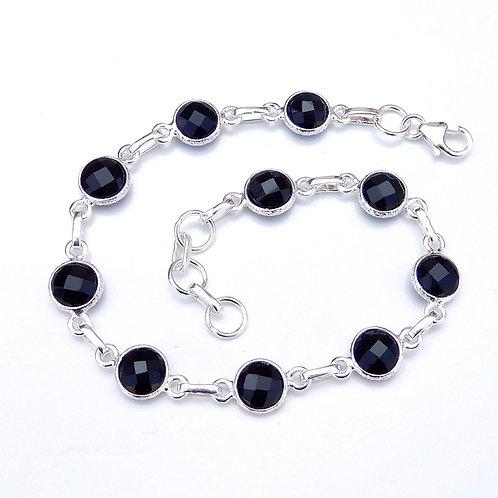 Briolette Gemstone Handmade Bracelet