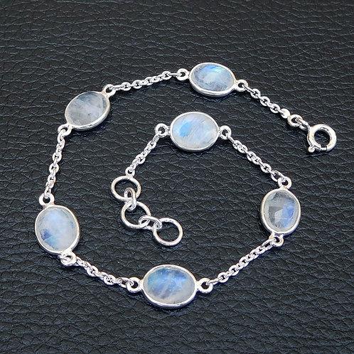 Natural Moonstone Bracelet