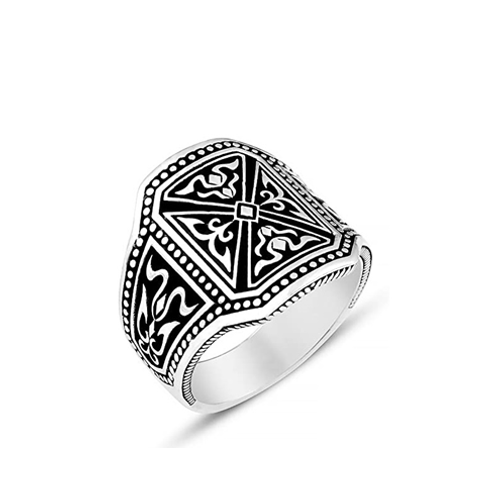 925 Sterling Silver Ring Artistic Silver Ring