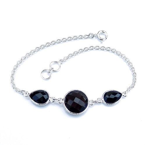 Briolette Onyx Bracelet