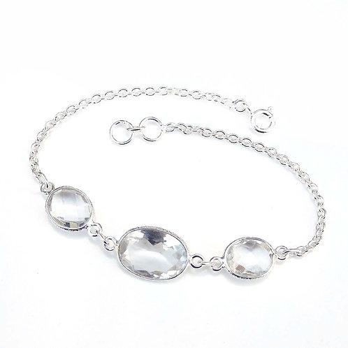 Natural Quartz Bracelet