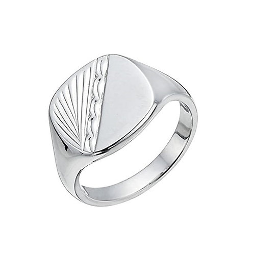 Signet 925 Sterling Silver Ring / Artistic Silver