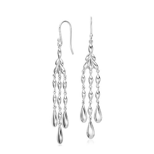 Pure 925 Sterling Silver Earrings