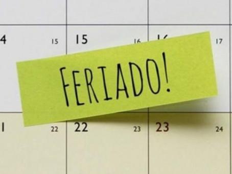 Troca do dia de feriado por acordo individual ou apenas por convenção ou acordo coletivo