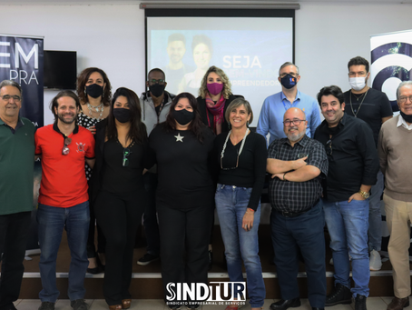 Sindtur recebe empresários do setor de beleza