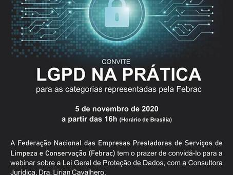 LGPD na prática para as categorias representadas pela Febrac