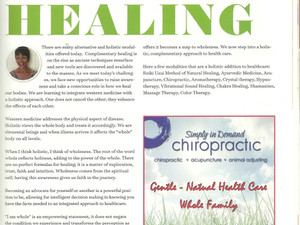 Holistic Approach to healing