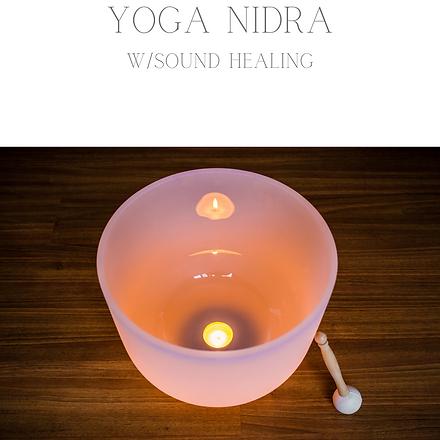 Yoga Nidra Sound Healing