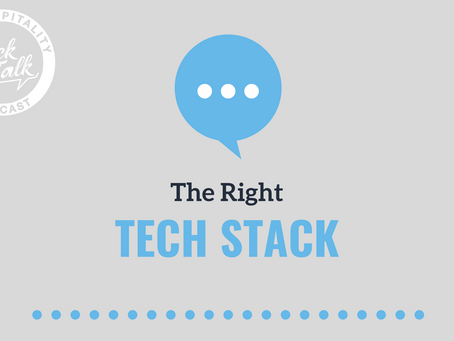 The Right Tech Stack