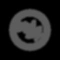 Slick talk round emblem gray.png