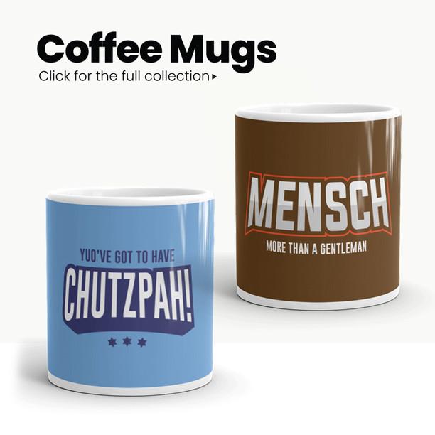 Israeli and Jewish Mugs