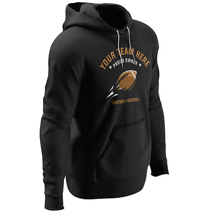 Flyer Hoodie - Personalized Text