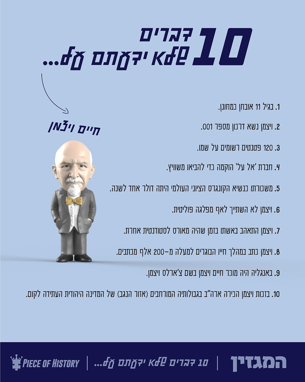 Weizmann-Magazine