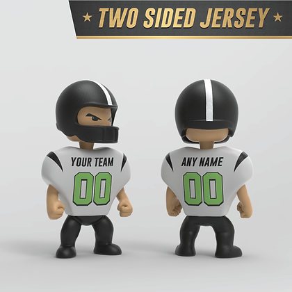 Personalized Football Figure: Two Sided Jersey
