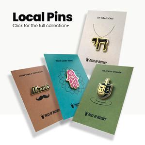Israeli Pins