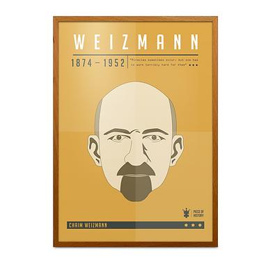 Chaim Weizmann Print