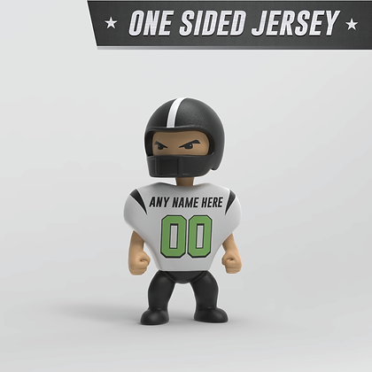 Personalized Football Figure: One Sided Jersey