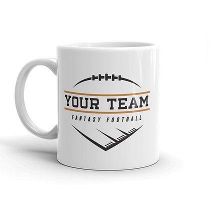 Stud Coffee Mug - Personalized Text