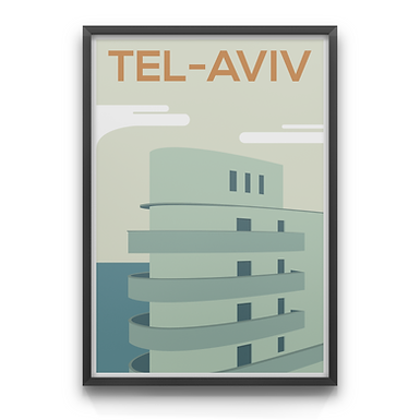 Tel-Aviv Bauhaus building