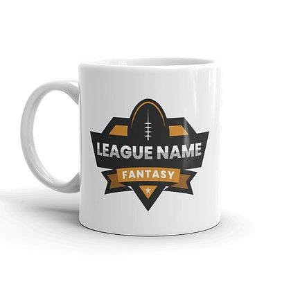 Depth Chart Coffee Mug - Personalized Text