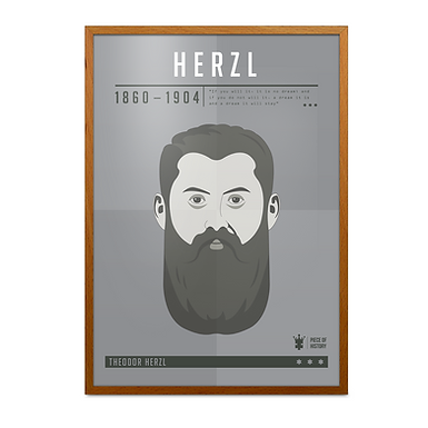 Theodor Herzl Print