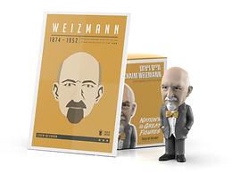 Chaim Weizmann Figurine