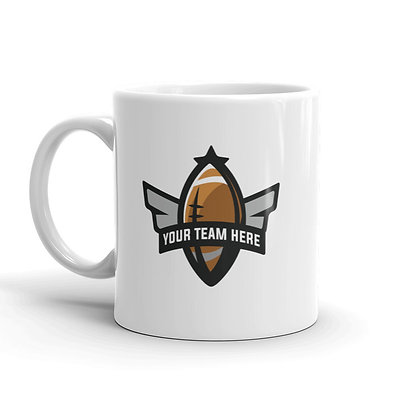 Vulture Back Coffee Mug - Personalized Text