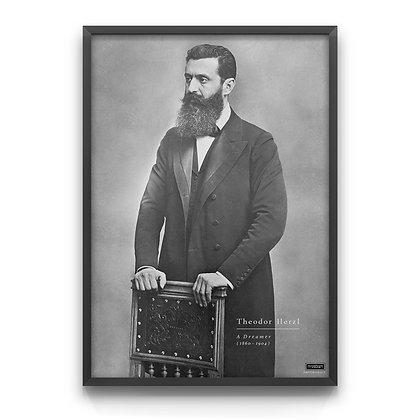 Theodor Herzl - Classic Portrait