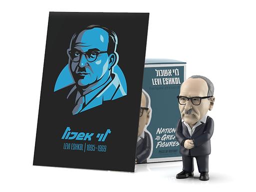 Levi Eshkol Figurine